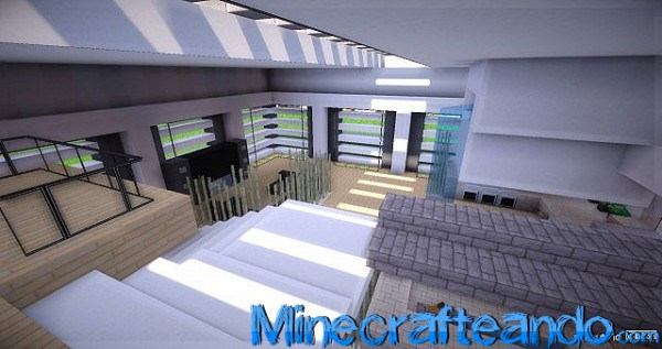 Paquete de recursos modern hd para minecraft 1 7 9 1 7 2 for Sala de estar no minecraft