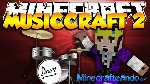 MusicCraft mod español