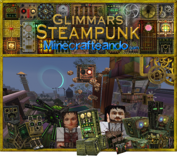 Steampunk-texture-pack