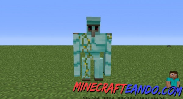 Golem world mod para minecraft 1 7 2 1 6 4 descargar e - Minecraft golem de diamant ...