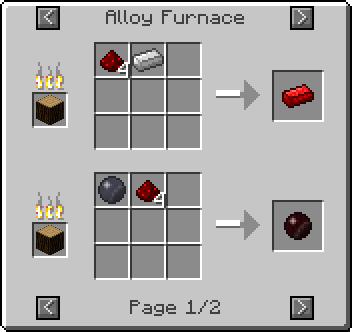 alloy furnace redstone