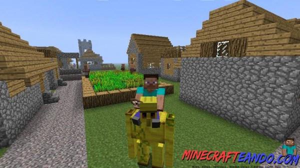 Animal bikes mod para minecraft 1 - Minecraft golem de fer ...