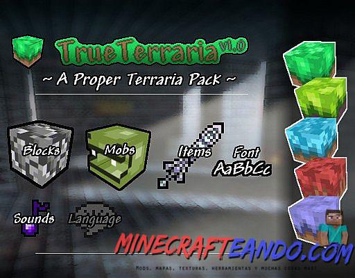 True-terraria-paquete-de-recursos