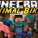 Animal Bikes Mod para Minecraft [1.7.10/1.7.2/1.6.4/1.5.2] | Descargar e Instalar