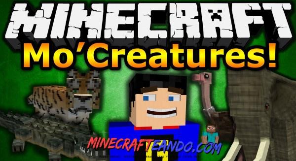 Mo`Creatures mod minecraft español