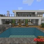 Casa Moderna Mapa Para Minecraft [1.8/1.7.10/1.7.2/1.6.4/1.5.2]   Descargar e Instalar
