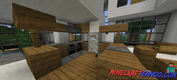 Casa moderna mapa para minecraft 1 8 1 for Casa moderna para minecraft
