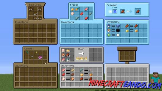 MrCrayfish`s Furniture Mod para Minecraft Descargar e Instalar-1