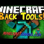 Back Tools Mod para Minecraft 1.8/1.7.10/1.7.2/1.6.4/1.5.2