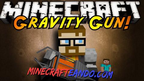 ... Mods para Minecraft | 1 comentario. Gravity-Gun-Descargar-E-Instalar-