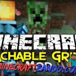 Attachable Grinder Mod para Minecraft 1.8/1.7.10/1.7.2/1.6.4/1.5.2