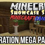 Decoration Mega Pack Mod para Minecraft 1.8