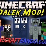 Dalek (Doctor Who) Mod para Minecraft 1.7.10/1.7.2/1.6.4/1.5.2