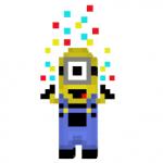 Confetti Minion Skin para Minecraft