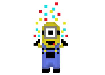 Confetti-minion-skin