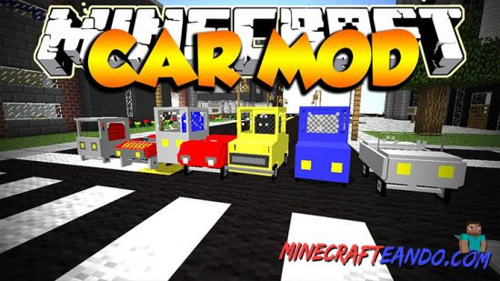 Cars And Drives Minecrafteando 1