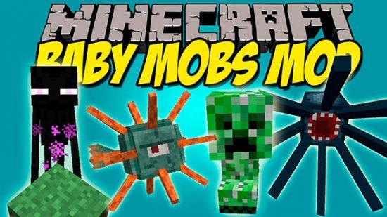 Bebes-Mobs-Para-Minecraft