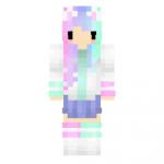 Cute Girl Chibi Skin para Minecraft