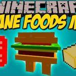 Insane Foods Mod para Minecraft 1.8