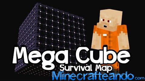 Mega Cubo de Supervivencia Mapa