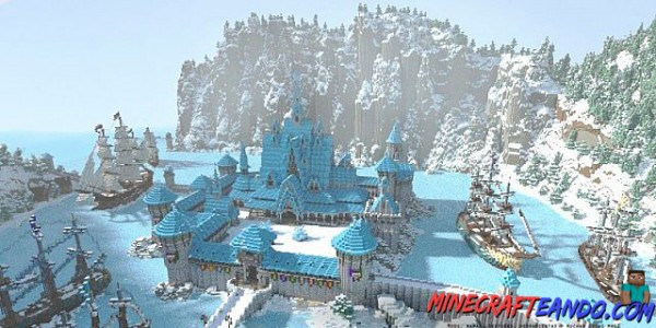 Arendelle-Frozen-Map