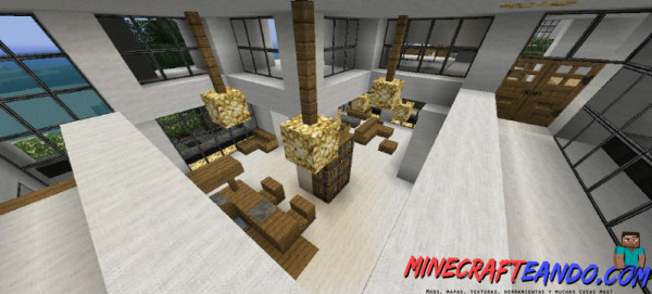 Minecraft-Casa-Moderna-Mapa-Español-10