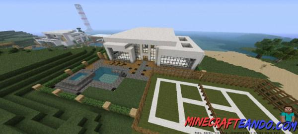 Minecraft-Casa-Moderna-Mapa-Español-6
