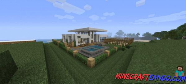 Minecraft-Casa-Moderna-Mapa-Español-7