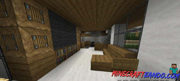 Minecraft-Casa-Moderna-Mapa-Español-8