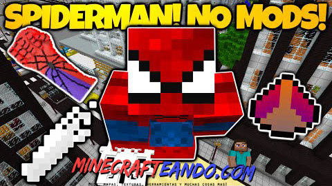 Spiderman-Mapa-Para-Minecraft-
