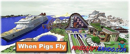 When-Pigs-Fly-Mapa-Para-Minecraft-