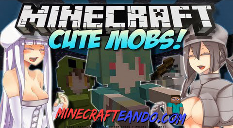 Cute-Mob-Models-Mod-Descargar-E-Instalar-