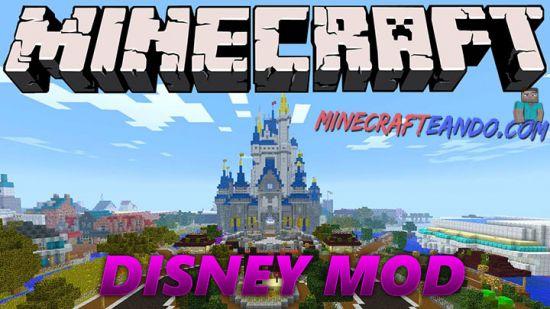 Disney mod para minecraft