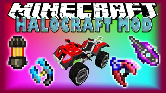 HaloCraft-Mod-Minecrafteando