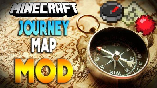 JourneyMap Mod