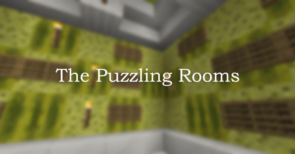 Las habitaciones desconcertantes mapa miniatura