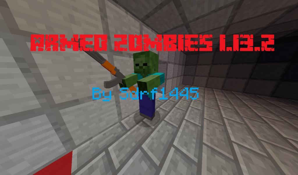 Mapa de Zombies armados en miniatura