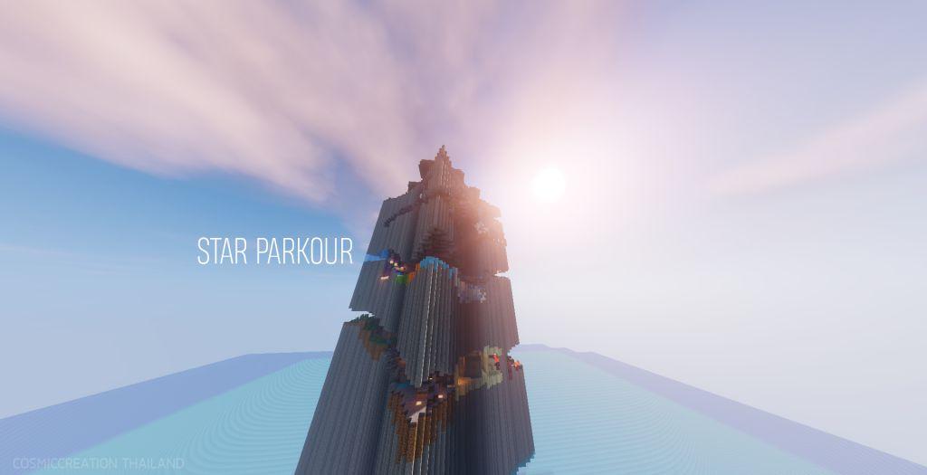 Miniatura del mapa de Star Parkour