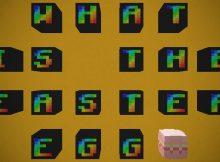 ¿Qué es la miniatura del mapa del huevo de Pascua?