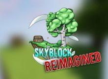 Miniatura del mapa reinventado de SkyBlock