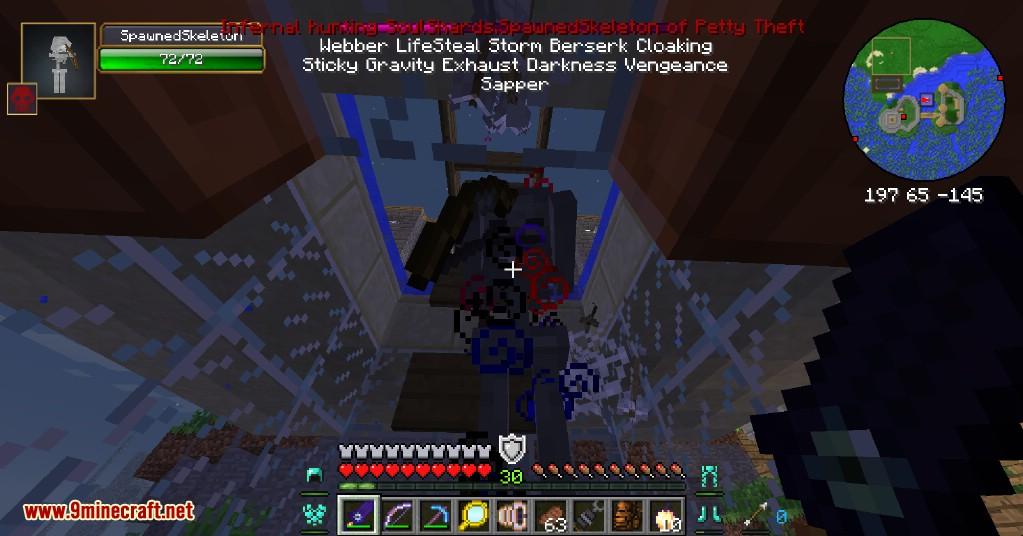 Infernal Mobs Mod Capturas de pantalla 1
