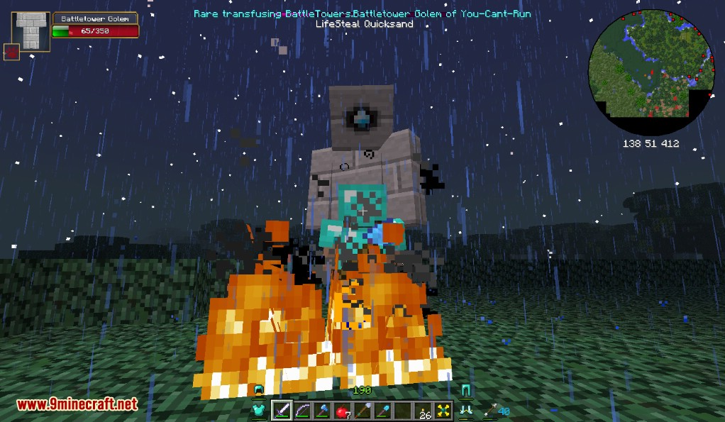 Infernal Mobs Mod Capturas de pantalla 8