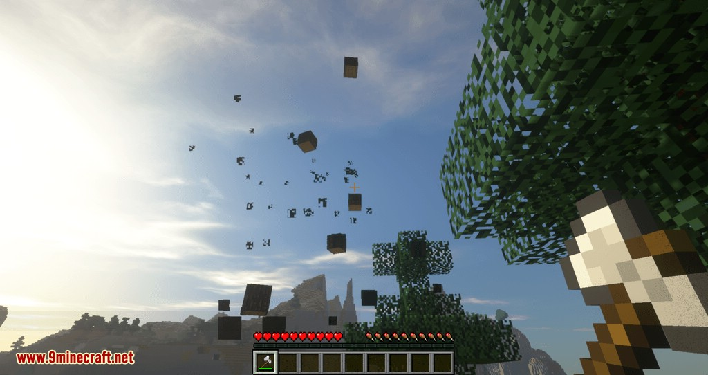 Tree Choppin mod para minecraft 05