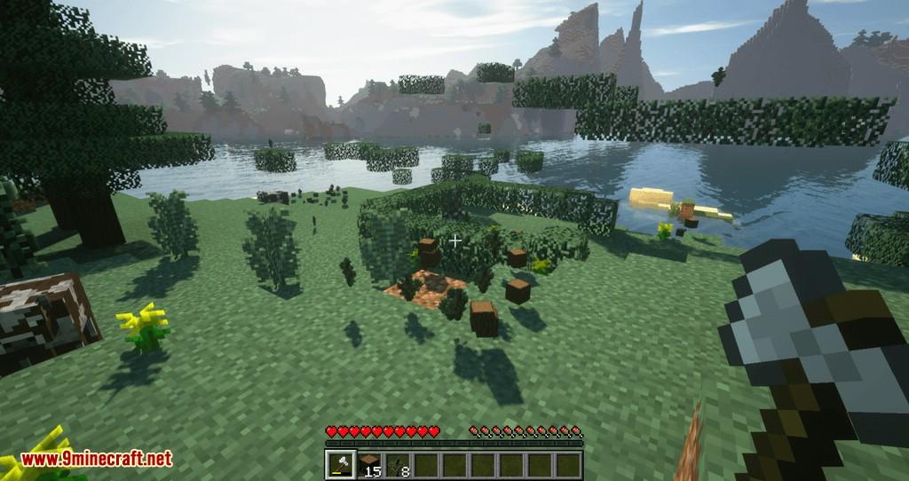 Mod Tree Choppin para Minecraft 07