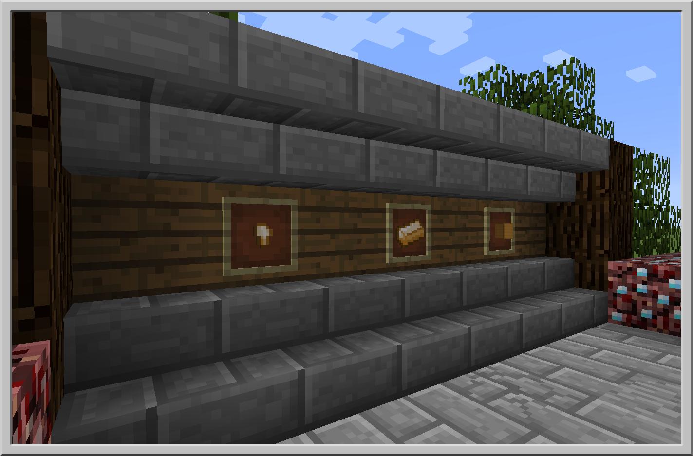Capturas de pantalla de Basic Nether Ores Mod 2