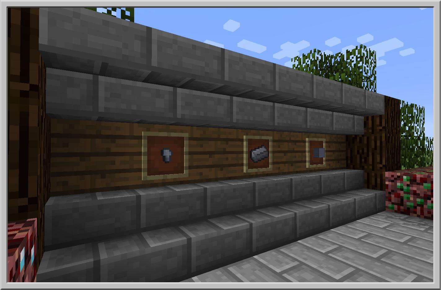 Capturas de pantalla de Basic Nether Ores Mod 3