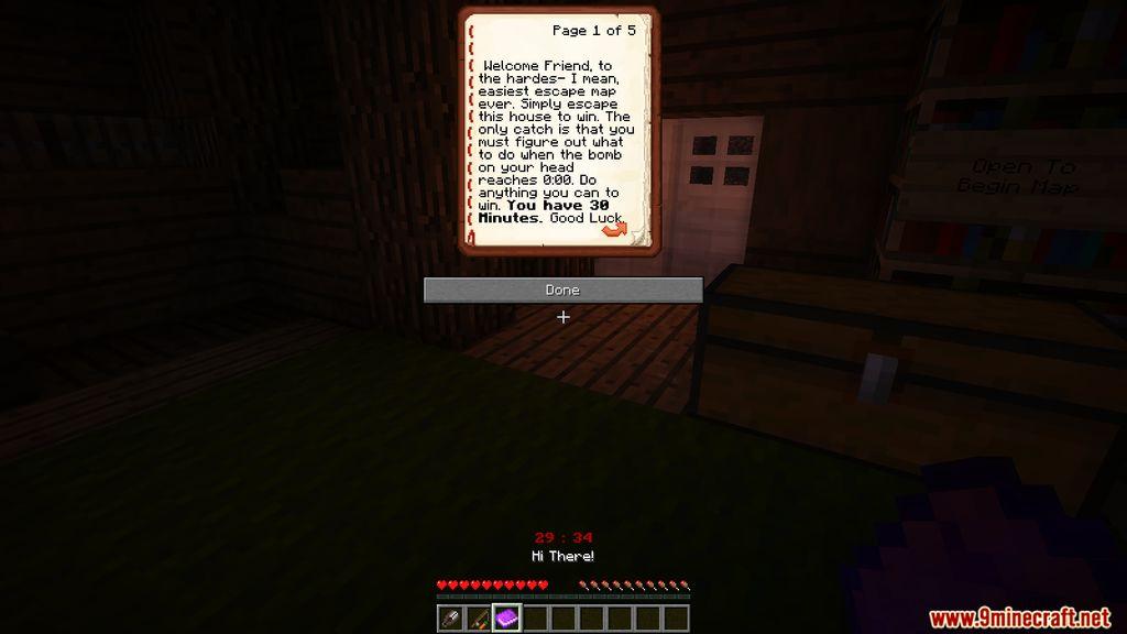 30 Minute Escape Map Capturas de pantalla (2)