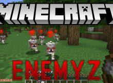 Mod EnemyZ para el logotipo de Minecraft