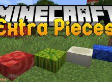 Mod de piezas extra para el logotipo de Minecraft