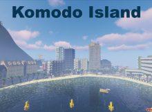 Miniatura del mapa de la isla de Komodo